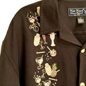 Nat Nast Limited Edition S/S Button-Down: L